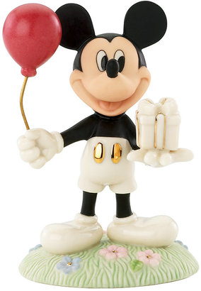 Lenox Collectible Disney Figurine, Mickey Mouse and Friends Mickey's Birthday Gift