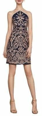 BCBGMAXAZRIA Baroque Embroidered Sheath Dress