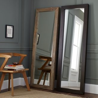 west elm Parsons Floor Mirror - Natural Solid Wood