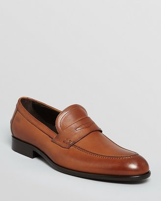 HUGO BOSS Bront Leather Penny Loafers