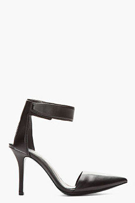 Alexander Wang Black leather Liya Pumps