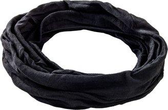 Ulta Black Knit Turban Headwrap