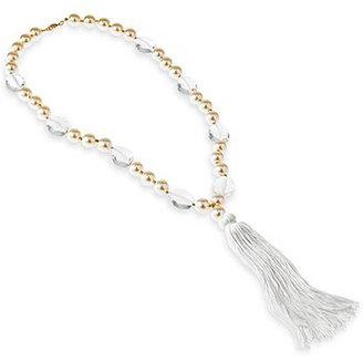 Spiegel Tassel Pearl Necklace