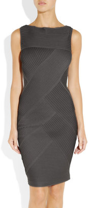 Catherine Malandrino Paneled ponte dress