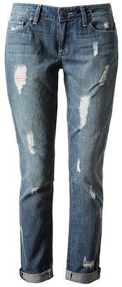 Paige 'Jimmy Jimmy Skinny' Distressed Denim Jeans