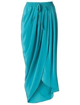 Thakoon Drape Front Skirt