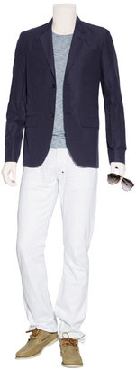 Marc by Marc Jacobs Ink Blue Warren Check Blazer