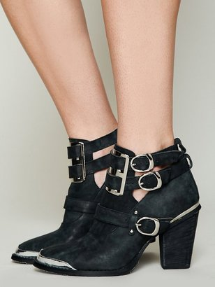 Jeffrey Campbell Lindi Buckle Back Boot