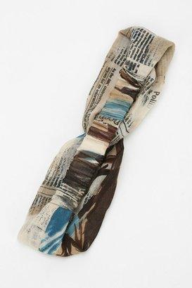 UO Newsprint Headwrap