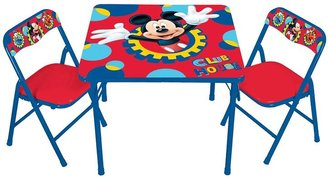 Kids Only Disney Mickey Mouse & Friends Erasable Activity Table & Chair Set by