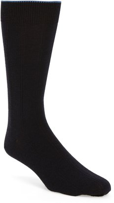 Nordstrom Rib Wool Blend Dress Socks