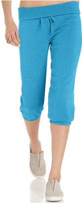 Calvin Klein Pants, Relaxed-Fit Foldover Active Capri