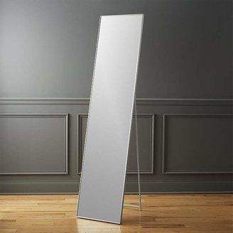 """CB2 Infinity 16""""X69"""" Standing Floor Mirror"""