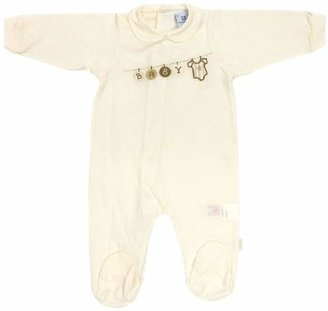 Cambrass Tencel Unisex Baby Motif Playsuit All-in-One