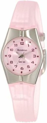 Armitron Sport Women's 25-6355PNK and Silver-Tone Easy to Read Watch