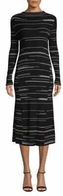 HUGO Striped Shift Dress