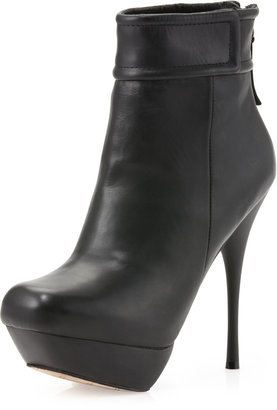 L.A.M.B. Blazon Ankle Boot, Black