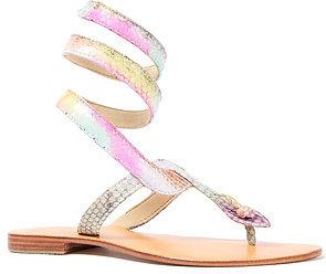 Cocobelle The Snake Ankle Wrap Sandal