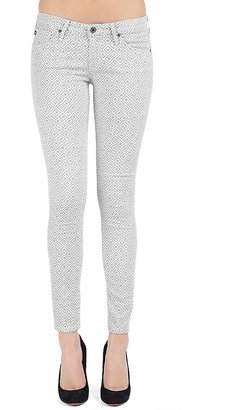 Adriano Goldschmied The Legging Ankle in Basket Weave Grey