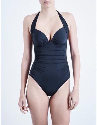 Jets Women's Ink Journey Halterneck Swimsuit, Size: 16
