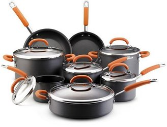 Rachael Ray 14-pc. nonstick hard-anodized cookware set