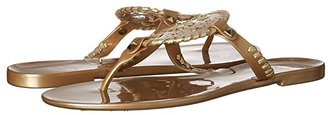 Jack Rogers Georgica Jelly (Black) Women's Sandals
