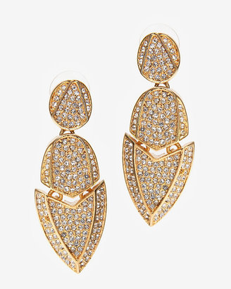 Kara Ross Crystal Artemis Earrings