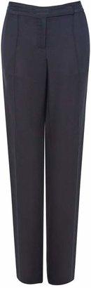 Amanda Wakeley Midnight Blue Slim Leg Trousers