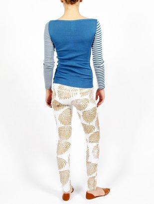 Sonia Rykiel Sonia by Long Sleeve Stripe Tee