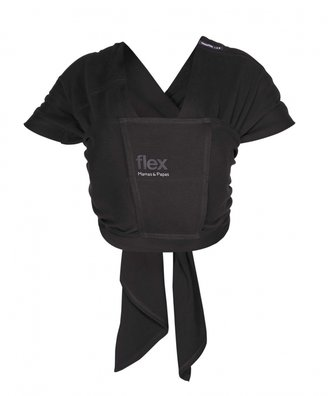 Mamas and Papas Flex Baby Sling (S/M) - Black Jack