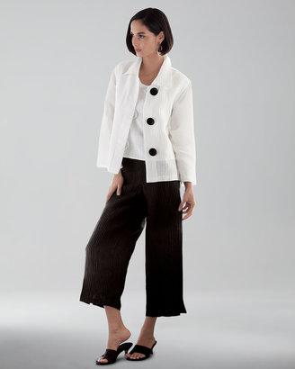 Caroline Rose Rib Wave Boxy Jacket, Women's