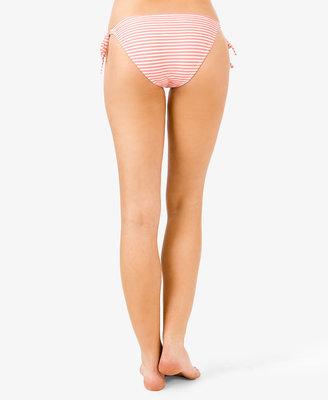 Forever 21 Striped Side-Tie Bikini Bottoms