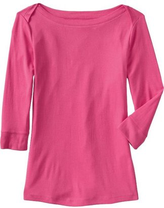 Old Navy Women's 3/4-Sleeve Boat-Neck Tops