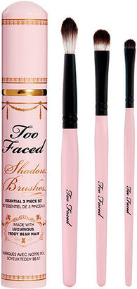 Too Faced Shadow Brushes Essential 3 Piece Set, N/A 1 ea