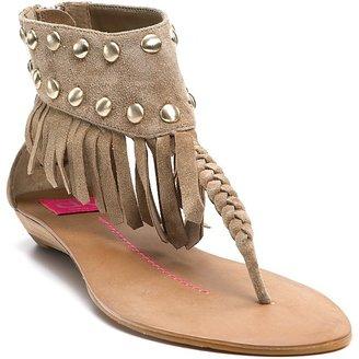 """Dolce Vita DV Aventura"""" Fringe Studded Thong Sandals"""