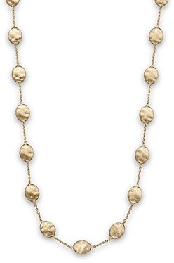 Marco Bicego Siviglia Collection Large Bead Necklace in 18K Yellow Gold, 16
