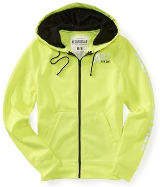 Aeropostale A87 Athletic Division Tricot Full-Zip Hoodie