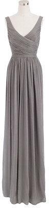 Heidi long dress in silk chiffon $298 thestylecure.com