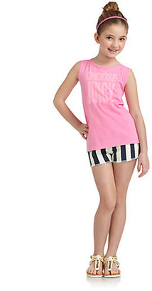 Juicy Couture Girl's Striped Shorts