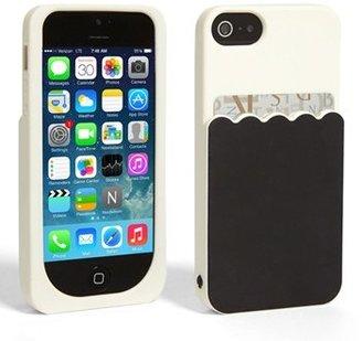 Kate Spade 'scallop pocket' card holder iPhone 5 & 5s case