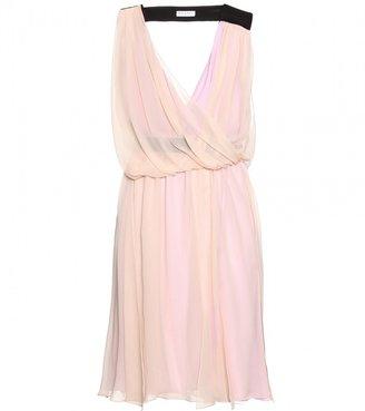 Vionnet SILK DRESS WITH DRAPE DETAIL