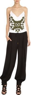 Maiyet Embroidered Cami Jumpsuit