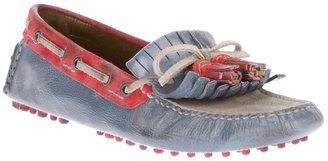 Car Shoe fringed driving shoe