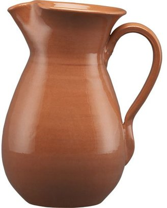 Crate & Barrel Terra Cotta Pitcher
