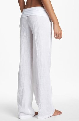 So Low Solow Wide Leg Linen Pants