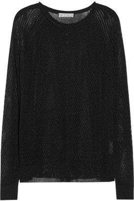 Dagmar Donatella open-knit sweater
