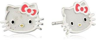 Hello Kitty Sterling Silver Stud Earrins