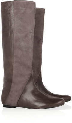 Sigerson Morrison Belle Leather and suede boots