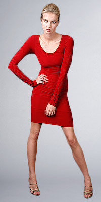 eDressMe Red Sexy Jersey Dresses by new york
