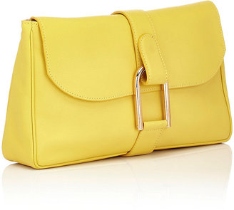 Delvaux Women's Givry Polo Pochette-Yellow
